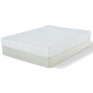 "Serta Kirkling Foam Queen 8"" Memory Foam Mattress Set"