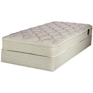 Serta Smart Choice Greenway King Euro Top Mattress Set