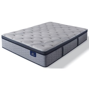 Twin Firm Euro Pillow Top Pocketed Coil Mattress