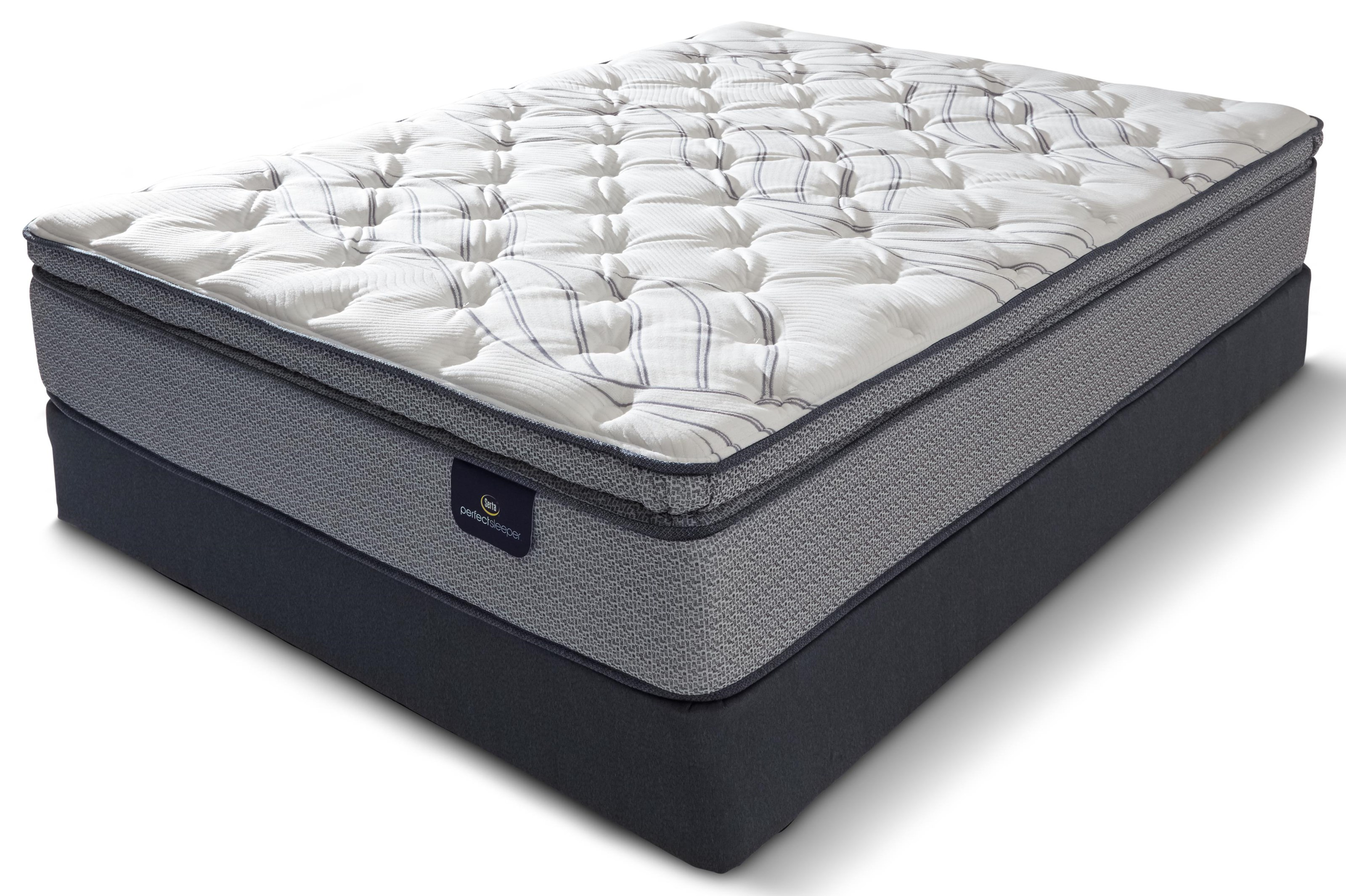 Aiden Perfect Sleeper QN AIDEN PILLOW TOP MATTRESS by Serta Canada at Stoney Creek Furniture