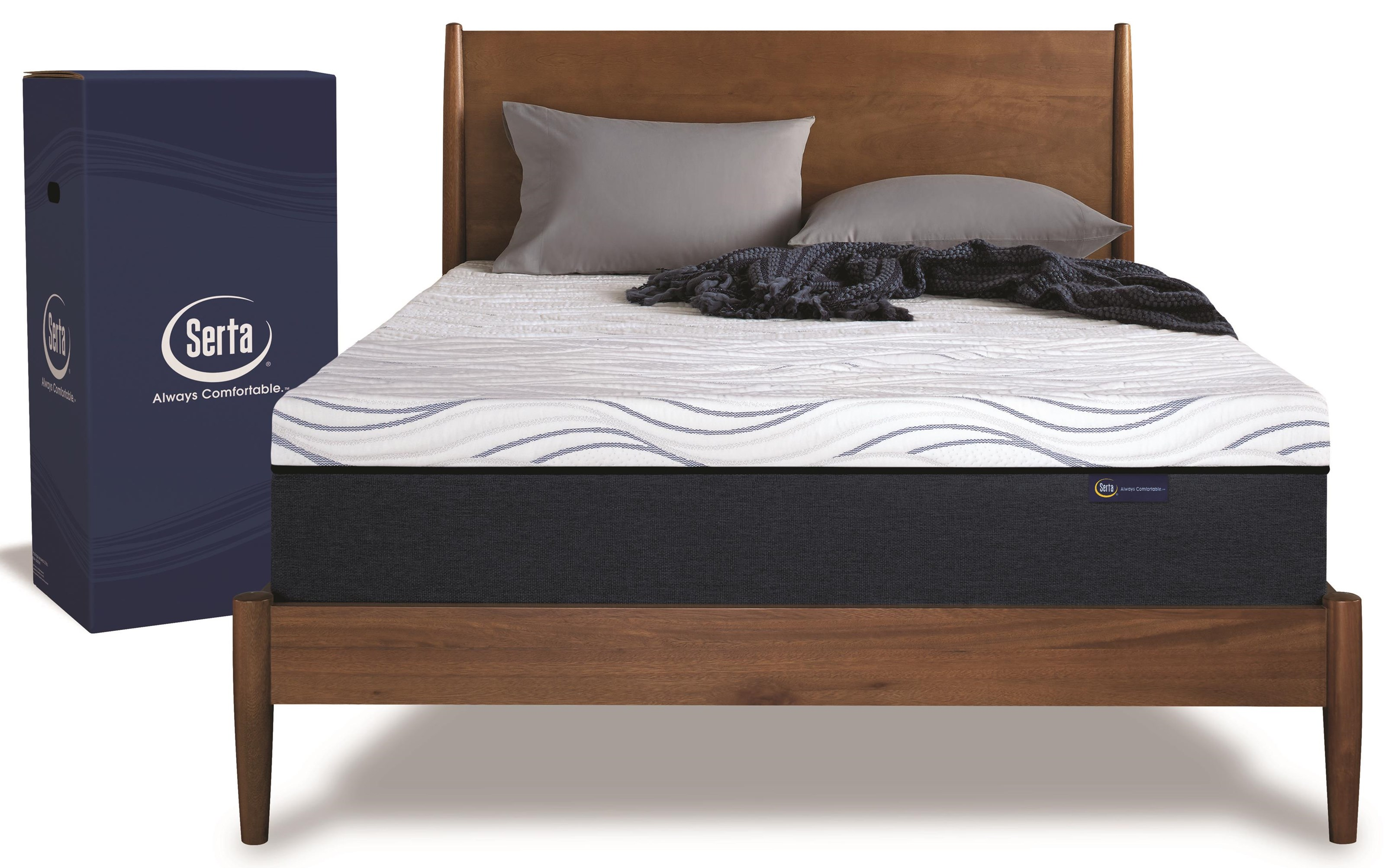 """Express Bed in Box FULL 9"""" EXPRESS BED IN BOX by Serta Canada at Stoney Creek Furniture"""