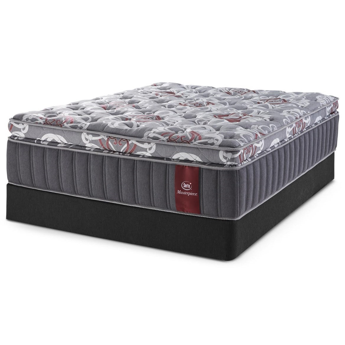"Queen 15"" Firm SPT Mattress Set"