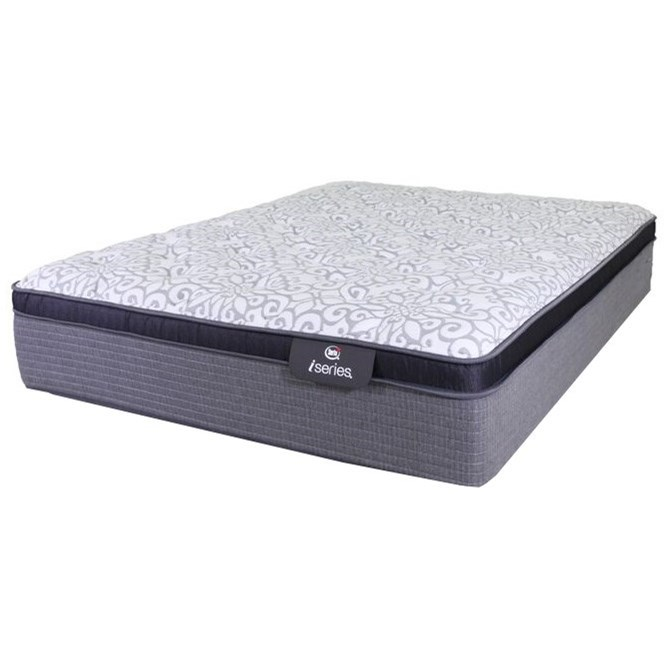 King Plush Euro Top Hybrid Mattress