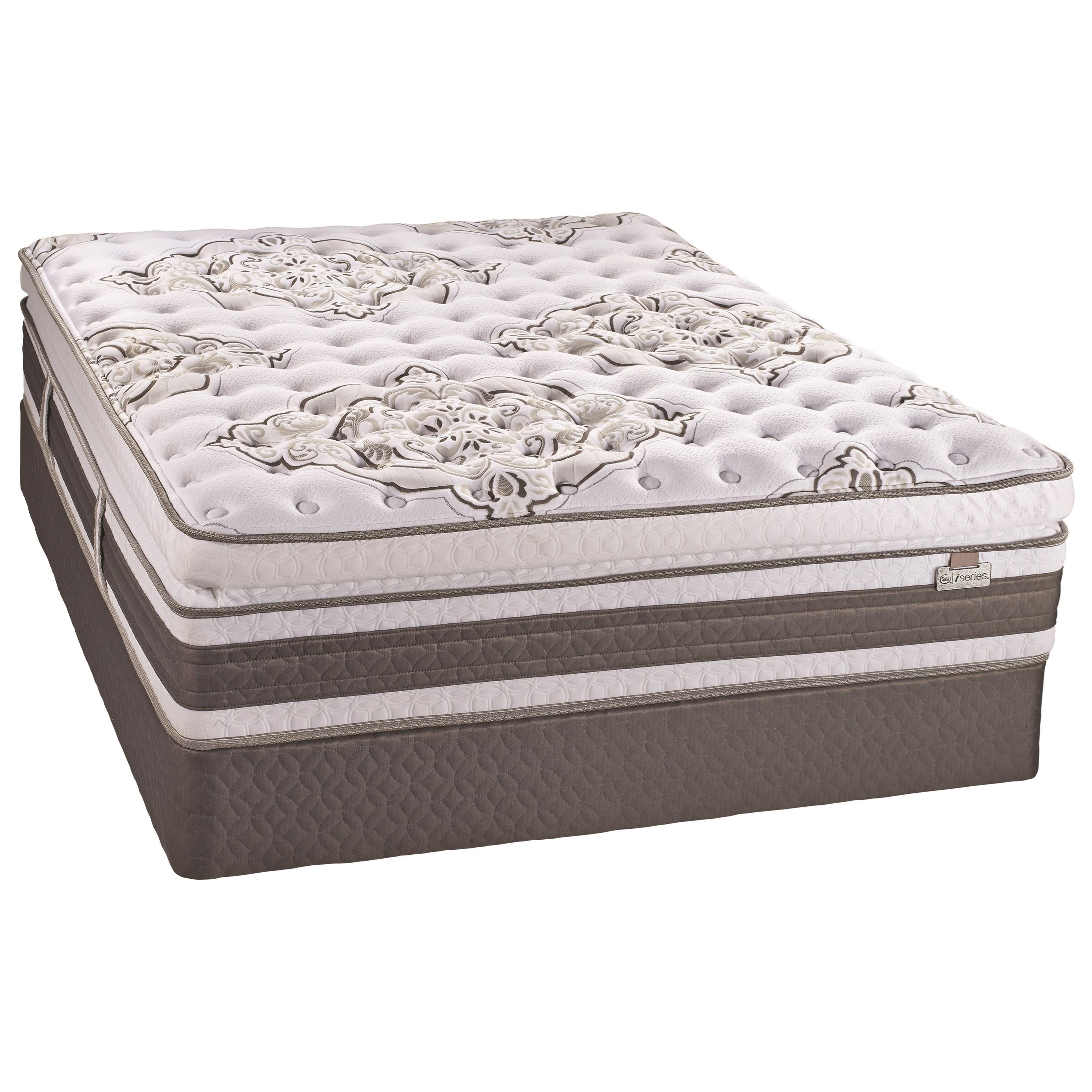 Serta Canada Notable II SPT Plush Queen Super Pillow Top Plush Mattress - Item Number: 500421143-Q
