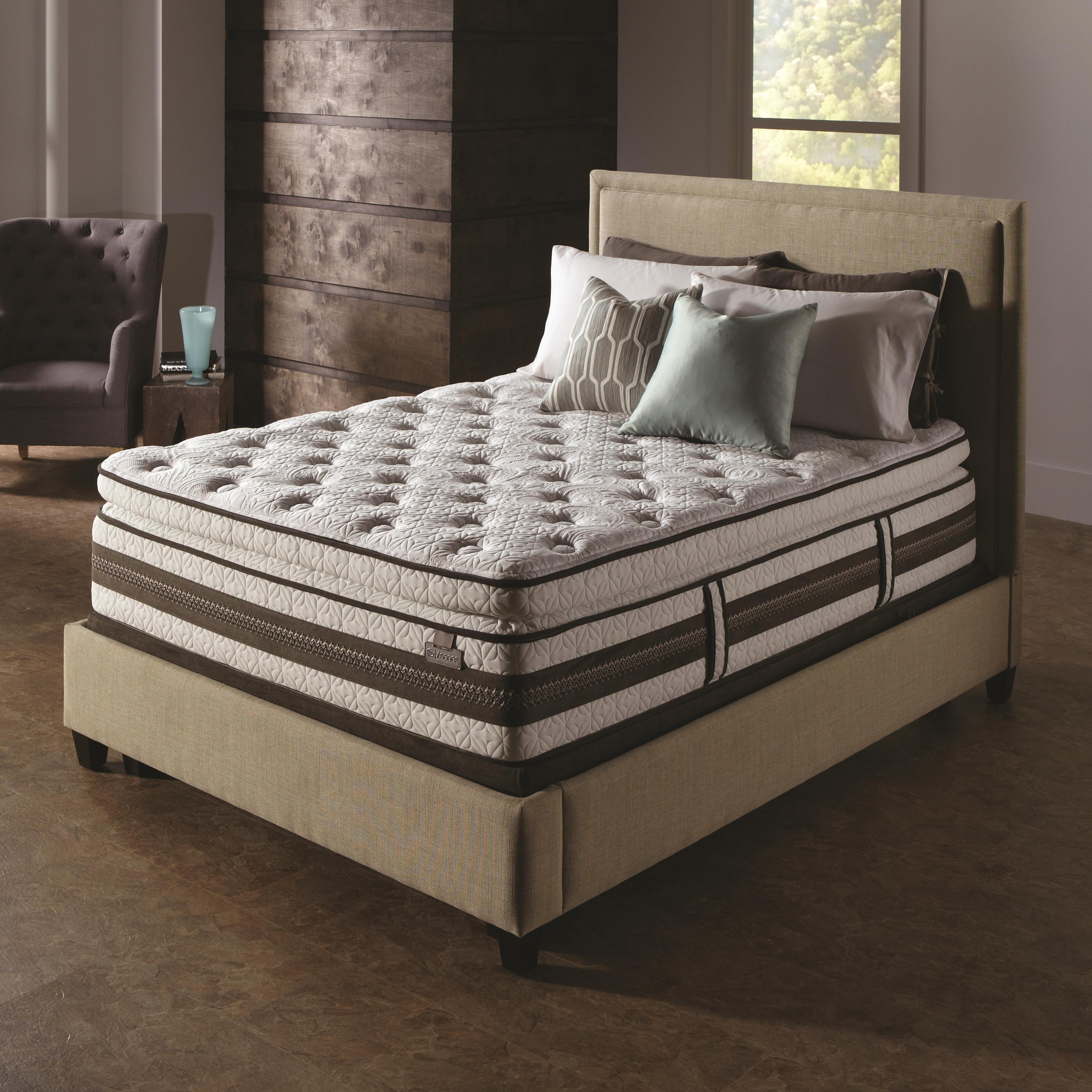 Serta iSeries Profiles Honoree Full Super Pillow Top Mattress - Item Number: 400833F