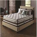 Serta iSeries Profiles Honoree Queen Super Pillow Top Mattress Set - Item Number: 400833Q+824399Q