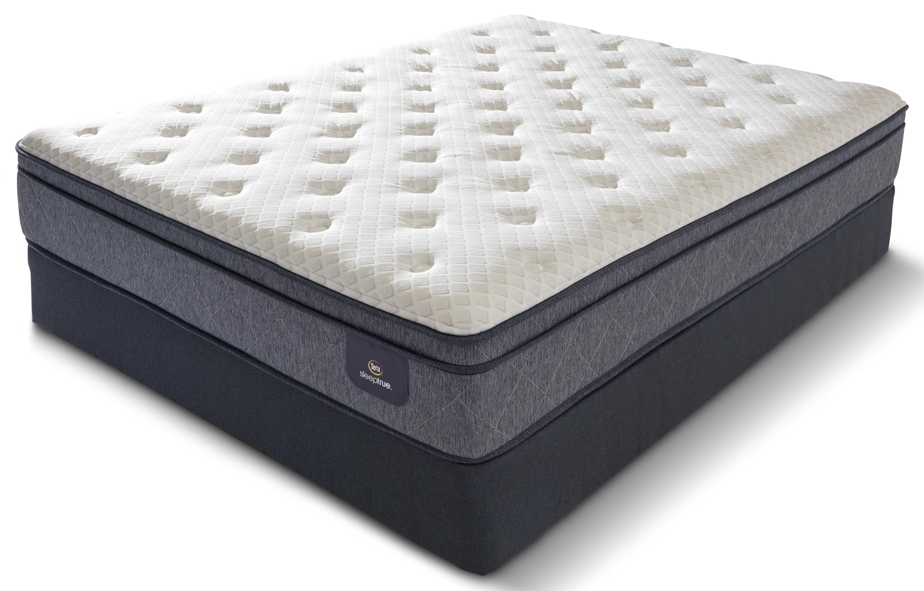 SPRUCE QN SPRUCE PLW SOFT MATTRESS by Serta Canada at Stoney Creek Furniture