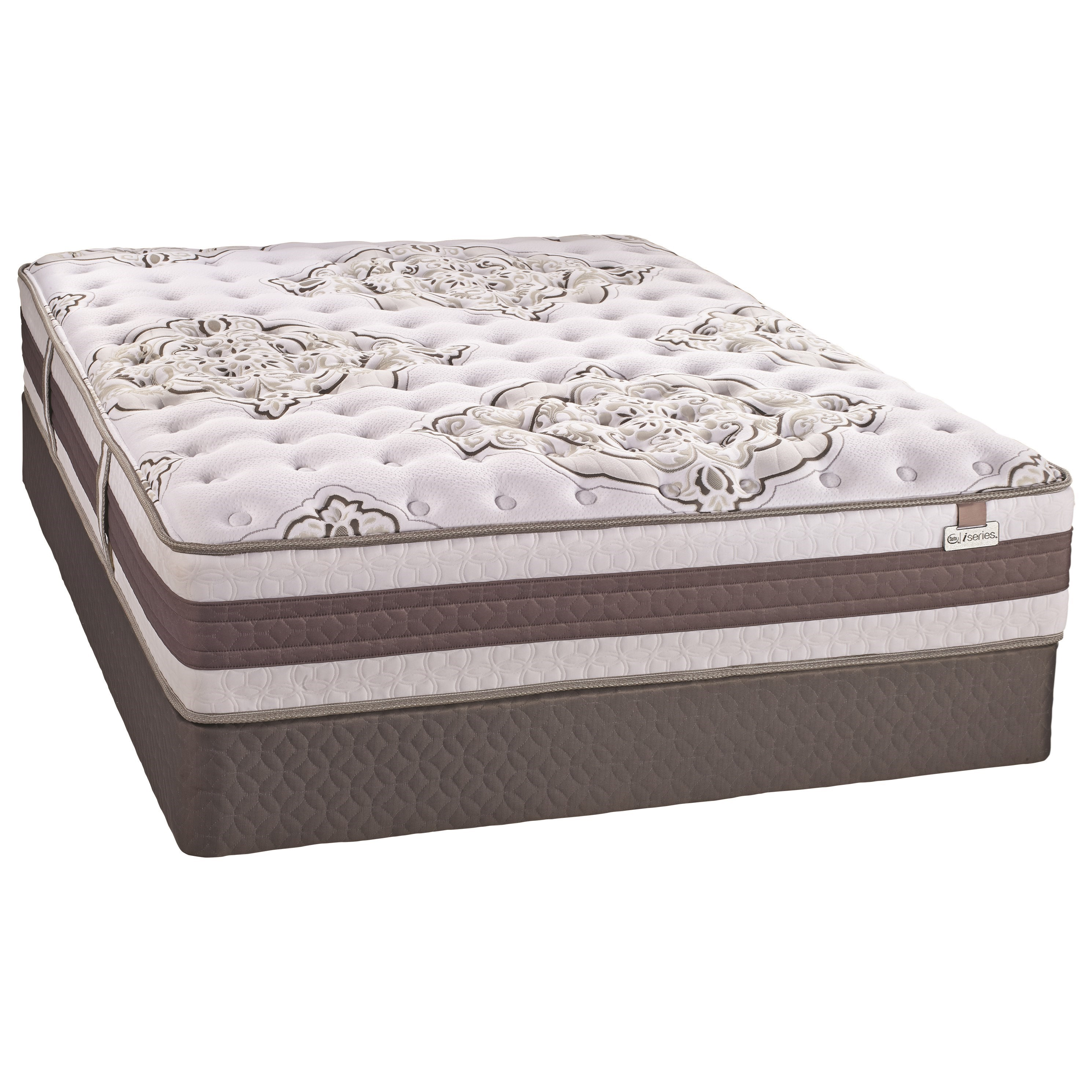 full free faircrest shipping today overstock product garden mattress home size set serta