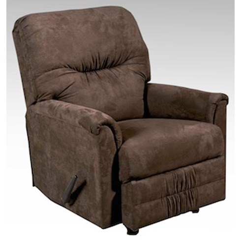 Serta Upholstery by Hughes Furniture 100 Recliner - Item Number: 100RCL - SSCHN
