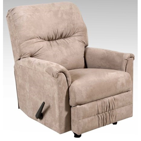 Serta Upholstery by Hughes Furniture 100 Recliner - Item Number: 100RCL - SSMO