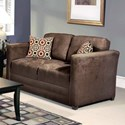 Serta Upholstery by Hughes Furniture 1085 Loveseat - Item Number: 1085LS