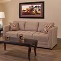 Serta Upholstery 1085 Sofa - Item Number: 1085S-SSMO
