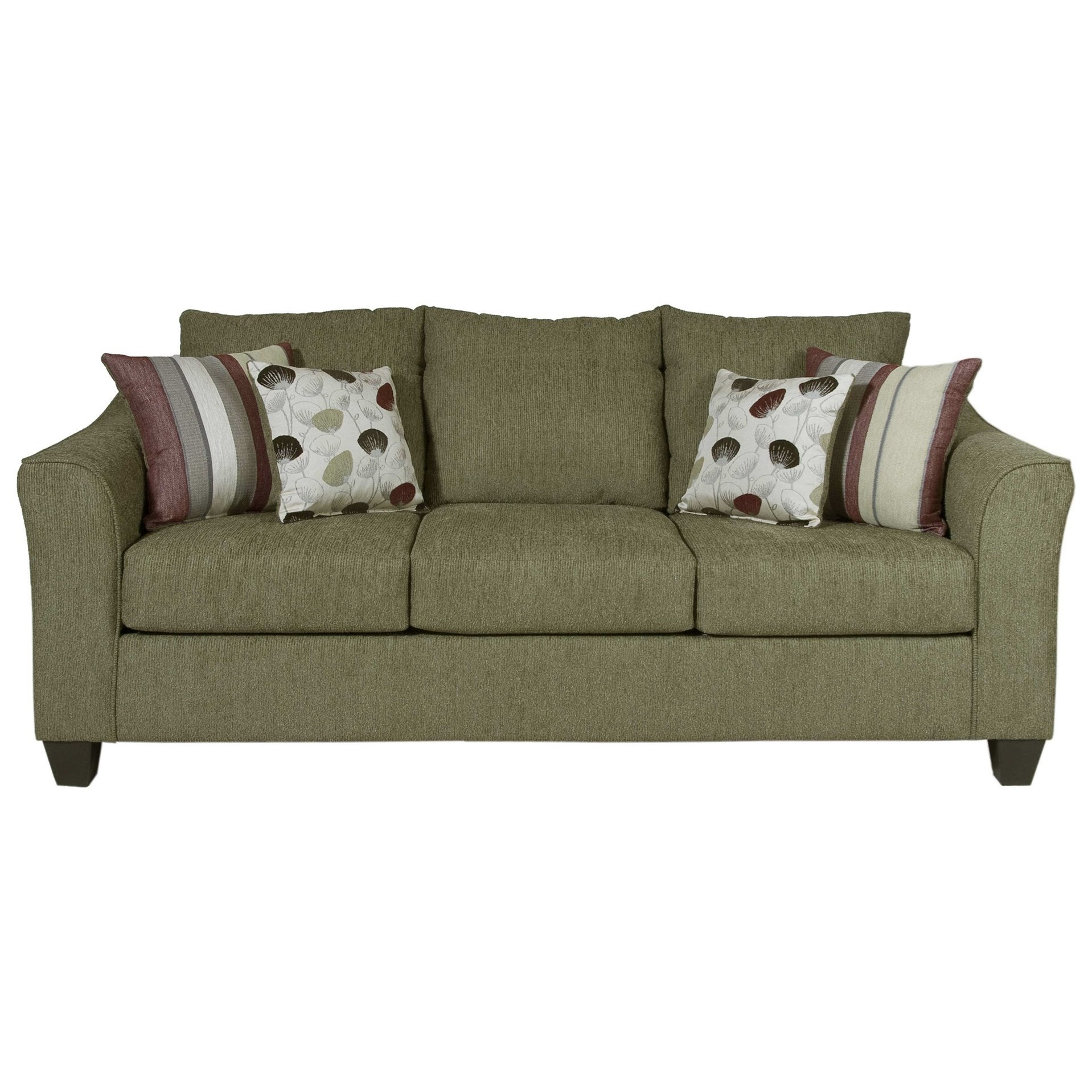 Serta Upholstery By Hughes Furniture 1225 Casual Upholstered Sofa   Item  Number: 1225S 1