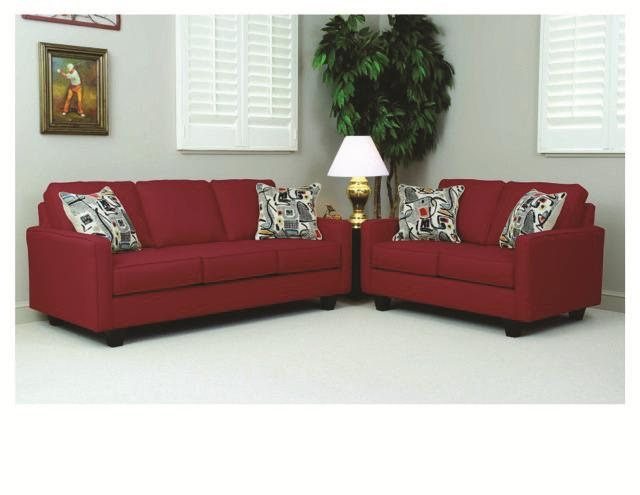 Serta Upholstery Graham Sofa & Loveseat Set - Item Number: 1900 SR+LR