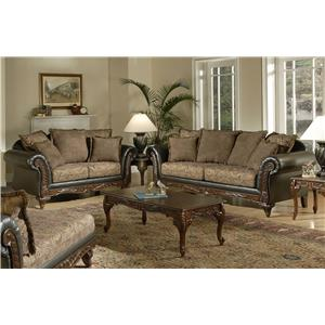 Serta Upholstery Monaco 5-Piece Living Room Package
