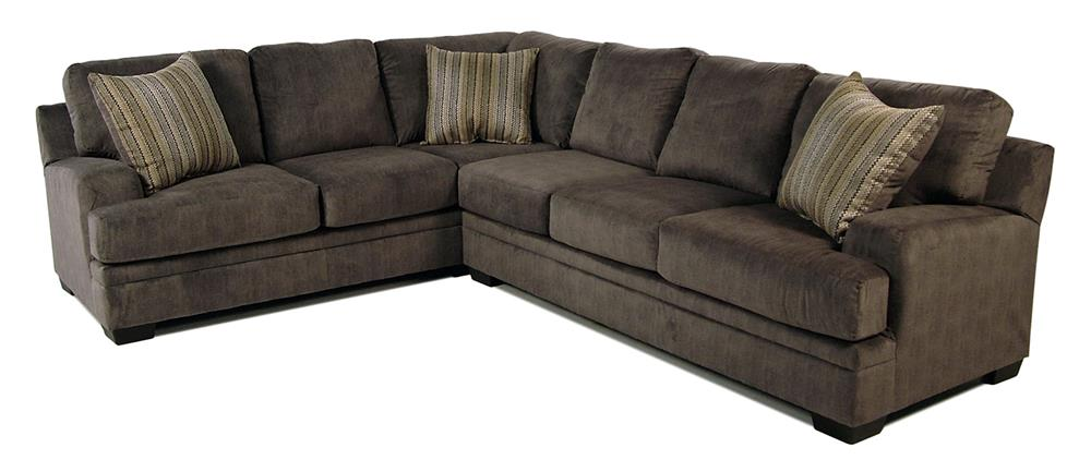 Serta Upholstery Grayson 2-Piece Sectional - Item Number: 8800-LAFCS-RAFS