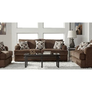 Serta Upholstery 14100 Stationary Living Room Group
