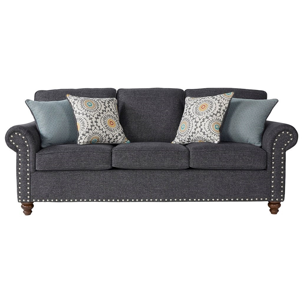 Serta Upholstery Winsome Traditional Sofa - Item Number: 17655-S JIGR