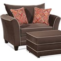 Serta Upholstery by Hughes Furniture 2650 Cuddle Chair - Item Number: 2650CC