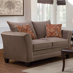 Serta Upholstery by Hughes Furniture 2650 Love Seat