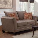 Serta Upholstery by Hughes Furniture 2650 Love Seat - Item Number: 2650LS 1