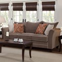 Serta Upholstery by Hughes Furniture 2650 Sofa - Item Number: 2650S 1