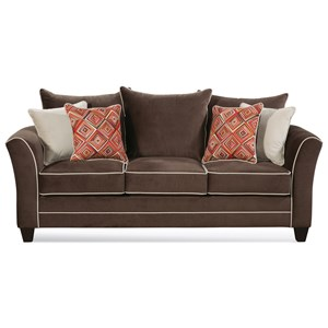 Serta Upholstery by Hughes Furniture 2650 Sofa