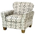 Serta Upholstery by Hughes Furniture 3010 Upholstered Chair - Item Number: 3010C-HATR