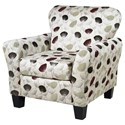 Serta Upholstery by Hughes Furniture 3010 Upholstered Chair - Item Number: 3010C-RORI