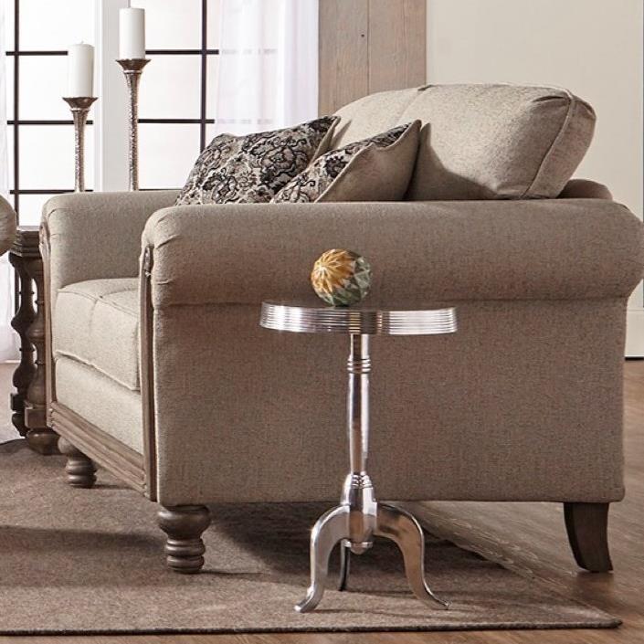 Serta Upholstery Belmont Upholstered Loveseat - Item Number: 3400LS-TSAL