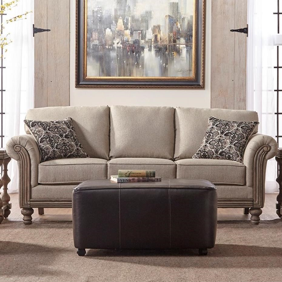 lrg couch seater sofa lounger serta bed breathable fabric three convertible kingsley brown leather soft