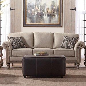Serta Upholstery Belmont Stationary Sofa