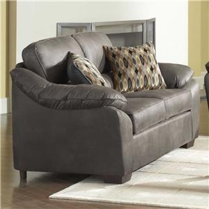 Serta Upholstery 3800 Pillowed Love Seat