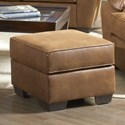 Serta Upholstery by Hughes Furniture 3800 Square Ottoman - Item Number: 3800 O - 1