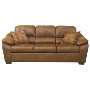 Serta Upholstery by Hughes Furniture 3800 Casual Sofa