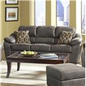 Serta Upholstery by Hughes Furniture 3800 Casual Sofa - Item Number: 3800 S