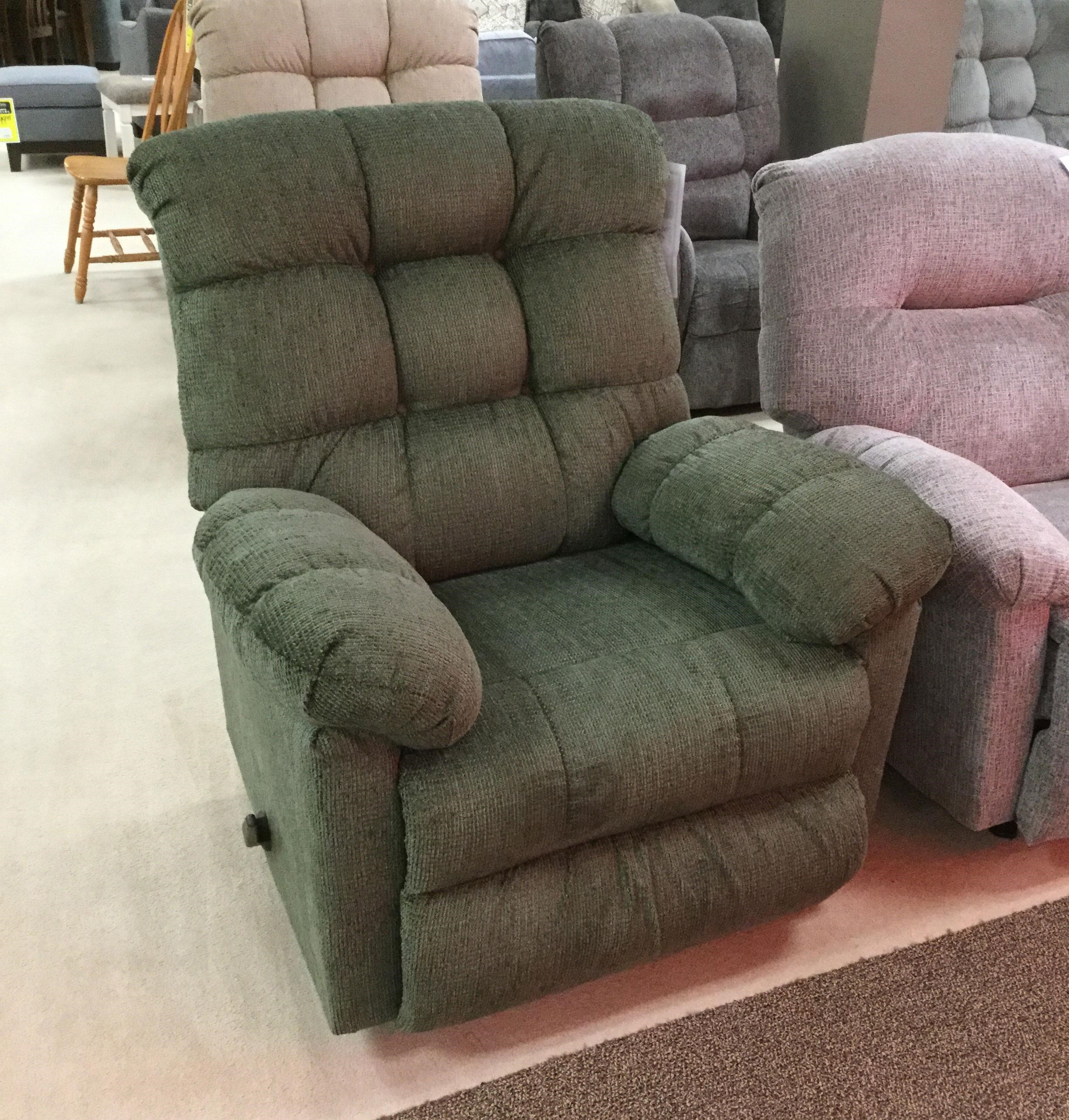 400 Recliner by Serta Upholstery by Hughes Furniture at VanDrie Home Furnishings