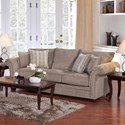 Serta Upholstery by Hughes Furniture 5100 Sofa - Item Number: 5100S 1