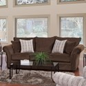 Serta Upholstery by Hughes Furniture 5100 Sofa - Item Number: 5100S
