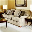 Serta Upholstery by Hughes Furniture 5500  Sofa - Item Number: 5500 S-Beige