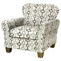 Serta Upholstery by Hughes Furniture 5600 Accent Chair - Item Number: 3010 C