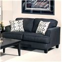 Serta Upholstery by Hughes 5600 Transitional Loveseat - Item Number: 5600 LS