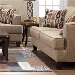 Serta Upholstery by Hughes Furniture 5600 Stationary Living Room ...