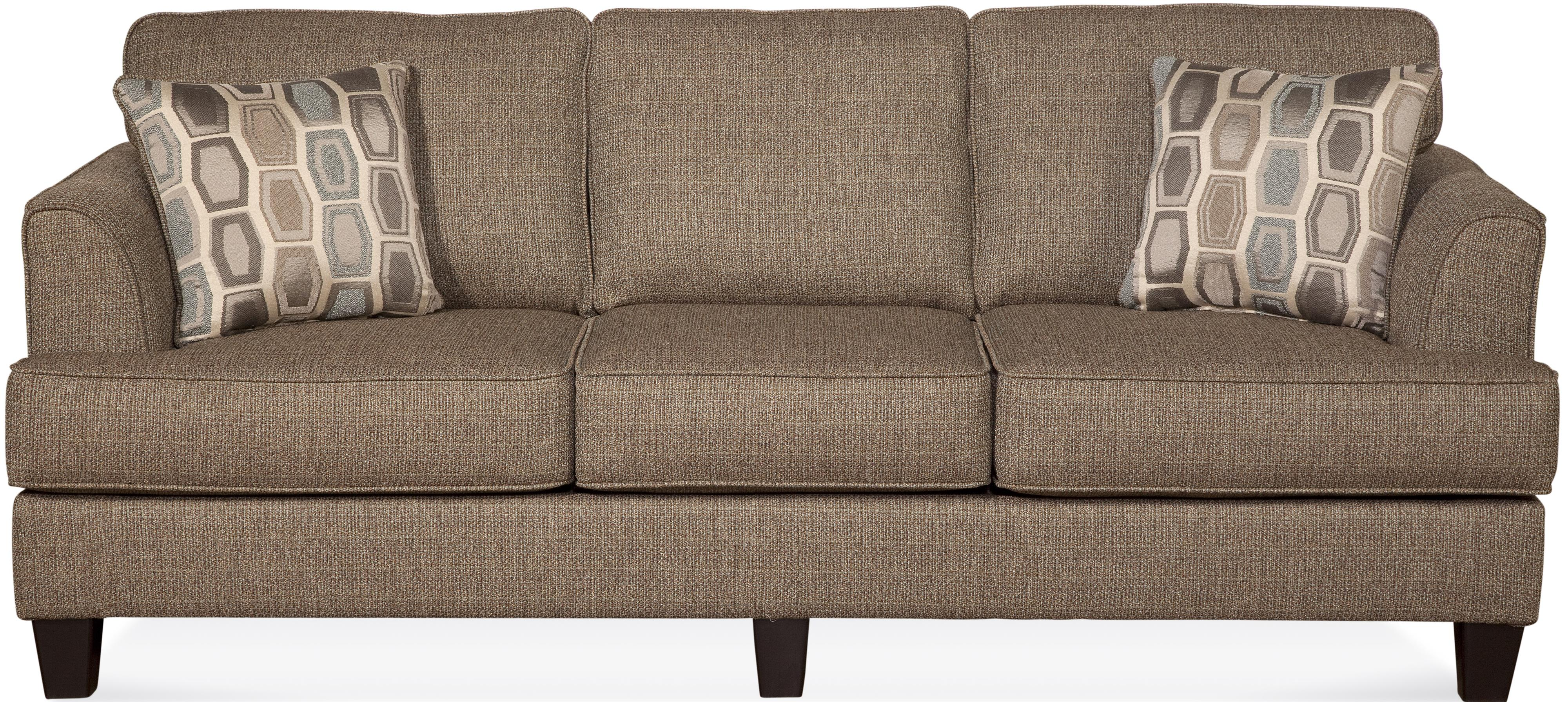 Serta Upholstery by Hughes Furniture 5600 Contemporary Sofa with