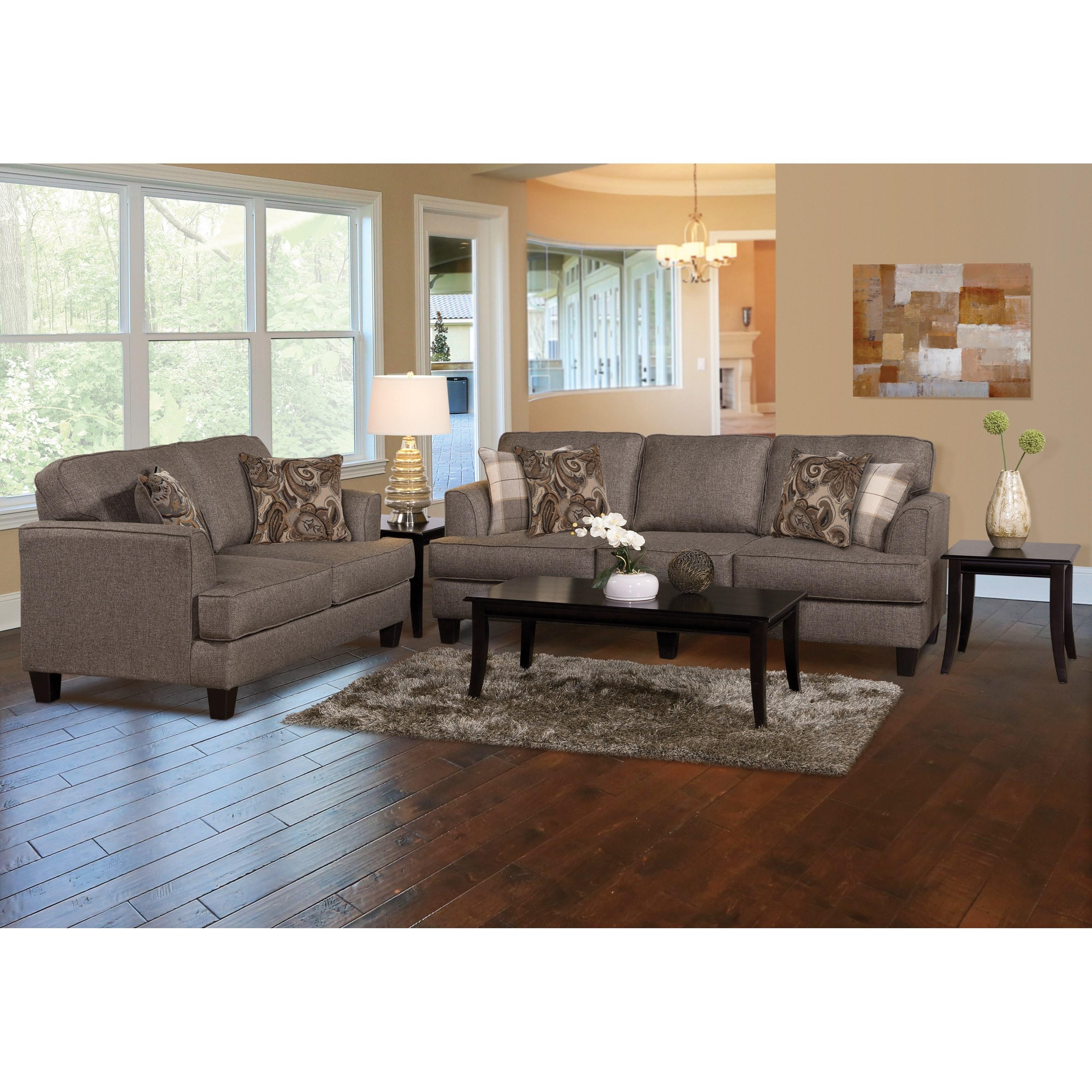 Hughes Serta Living Room Furniture