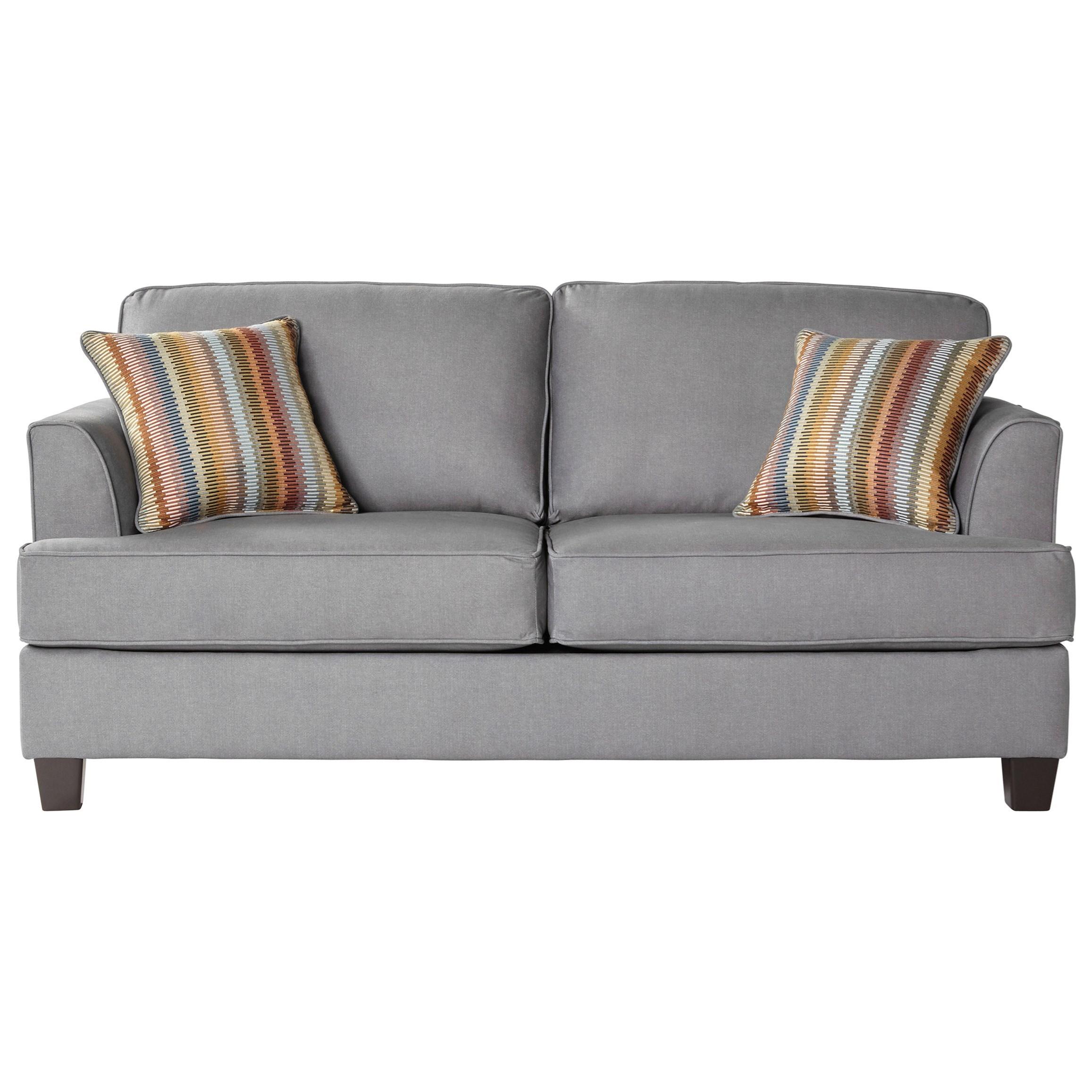 Pleasing Serta Upholstery By Hughes Furniture 5650 Transitional 2 Home Interior And Landscaping Sapresignezvosmurscom