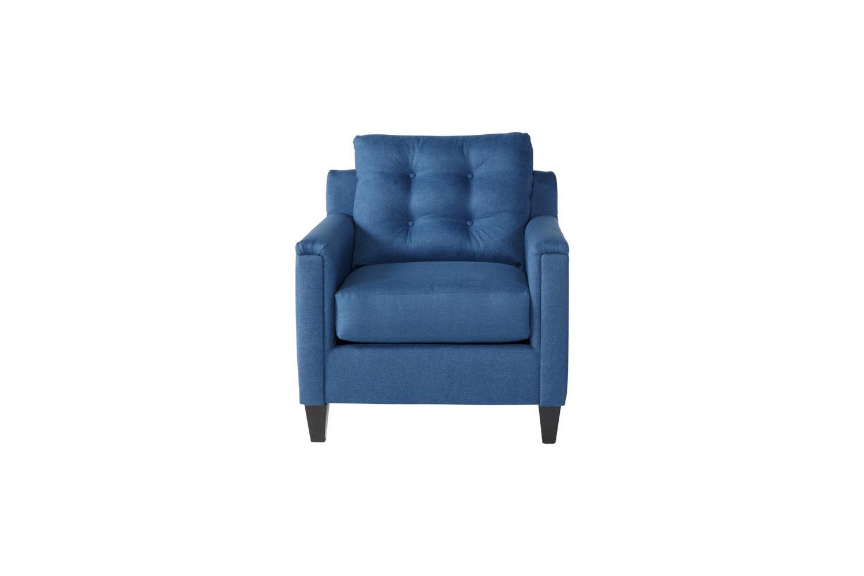 Serta Upholstery by Hughes Furniture 6800Jitt Denim Chair - Item Number: 6800Denim