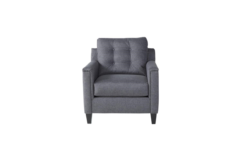 Serta Upholstery by Hughes Furniture 6800Jitt Gray Chair - Item Number: 6800Gray