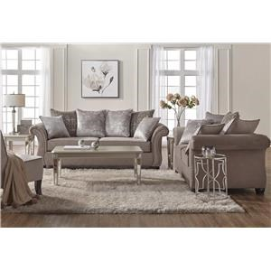 Serta Upholstery Cosmos 5PC Living Room Set