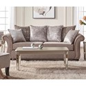 Serta Upholstery by Hughes Furniture 7500 Stationary Sofa - Item Number: 7500S